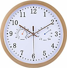 DXX Radio Controlled Wall Clock With Temperature