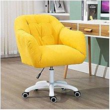 DXXWANG Chair Desk Stool Sofa Velvet Spin Computer
