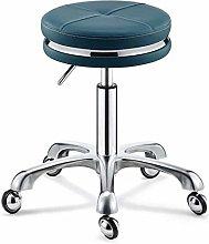 DXXWANG Chair Salon Down Swivel Chair