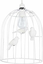 DXXWANG Contemporary Gloss White Bird Cage Ceiling