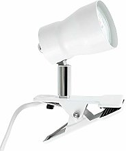DXXWANG Daylight Clip On Table Lamp LED Office
