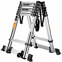 DXXWANG Portable Telescopic Ladder Multifunction