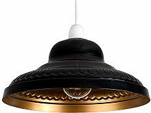 DXXWANG Retro Ceiling Light Shade Modern Easy Fit