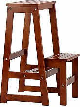 DXXWANG Step Stool Stepping Wooden Bench
