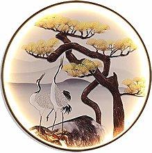 DXXWANG Wall Lamp Chinese Style Circular Bracket