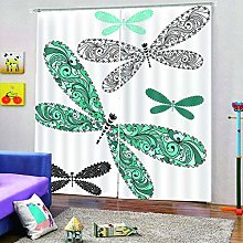 dxycfa 3D Printing Blackout Curtains Insect