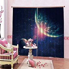 dxycfa 3D Stereoscopic Curtains Constellation