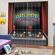 dxycfa 3D Stereoscopic Curtains Game Console