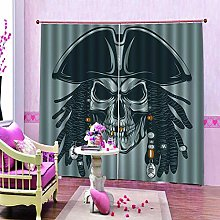 dxycfa 3D Stereoscopic Curtains Purple Waterproof