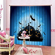 dxycfa Polyester Blackout 3D Window Curtains
