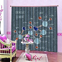 dxycfa Solid Thermal Curtains Gene Home Decoration