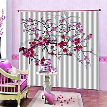 dxycfa Solid Thermal Curtains Moon Waterproof