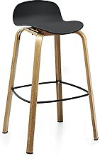 dxzsf Bar Stools Bar Stool Chair with Low Backrest