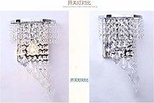 DYB Creative Stainless Steel Lamp Modern Crystal