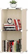DYB File Racks, Bookshelf Storage Rack Cube