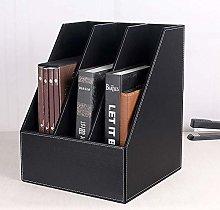 DYB File Racks, File Dividers Rack, 3 Slot Wood
