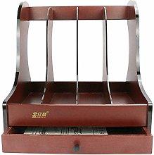 DYB File Racks, File Holder Four-Bar Desktop is