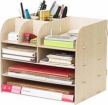 DYB File Racks, File Racks Wooden Storage Box