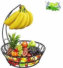 DYB Fruit Plate Vintage, Wire Fruit Basket Bowl
