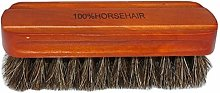 DYB Handle brush Shoe Brush - 2PC Horsehair Shoe