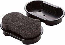 DYB Handle brush Shoe Shine Sponge - Leather