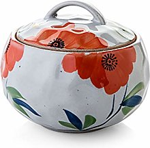 DYB Soup Bowl with Lid Ceramic Soup CrocksFor