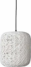 Dyberg Larsen Spin Pendant Lamp, Small, White
