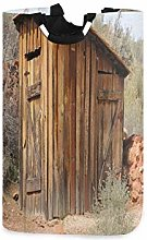 DYCBNESS Laundry Basket,Outhouse Ancient Olive
