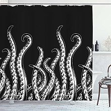 DYCBNESS Shower Curtain,octopus