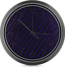 DYCBNESS Silent Non Ticking Wall Clock,Luxury