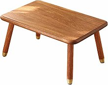 DYecHenG Coffee Table Wood Wax Oil Craft Removable
