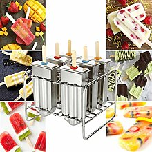 DYecHenG Ice Lolly Makers Popsicle Mold Stainless