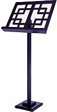 DYecHenG Music Stand Wood Smooth and Sturdy Music