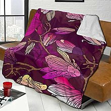 DYJNZK Sofa Bed Blankets Throw Amazing Lilac