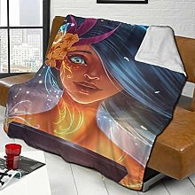DYJNZK Sofa Bed Blankets Throw Fantasy Fantastic