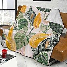 DYJNZK Sofa Bed Blankets Throw Garden With Sea