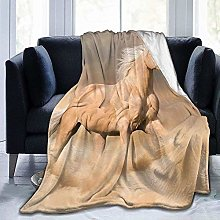 DYJNZK Sofa Bed Blankets Throw Running Yellow