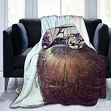 DYJNZK Sofa Bed Blankets Throw Sloth With