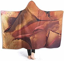 DYJNZK Sofa Bed Blankets Throw Surreal World