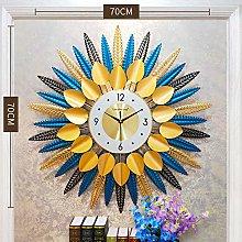 DYJXIGO 27 Inch Silent 3D Wall Clocks, Tree-Shape