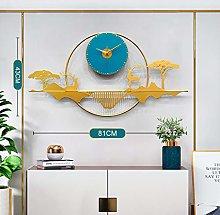 DYJXIGO Bedroom Wall Clock Non-Ticking Quartz