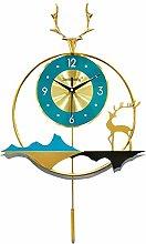 DYJXIGO Non Ticking Silent Large Wall Clock, 25