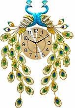DYJXIGO Non Ticking Silent Large Wall Clock 28