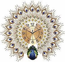 DYJXIGO Silent Large Wall Clock 3d Non Ticking