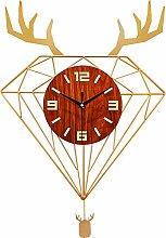 DYJXIGO Silent Wall Clock Non-Ticking Quartz