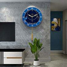 DYJXIGO Wall Clock Bedroom Non Ticking Silent