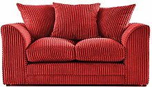 Dylan 2 Seater Sofa (Red)