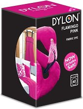 Dylon Flamingo Pink Machine Fabric Dye 350g, Salt