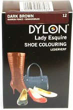 Dylon Shoe Colour - Dark Brown 12