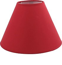 DyniLao 105mmx260mmx170mm Red Desk Lamp Cover for